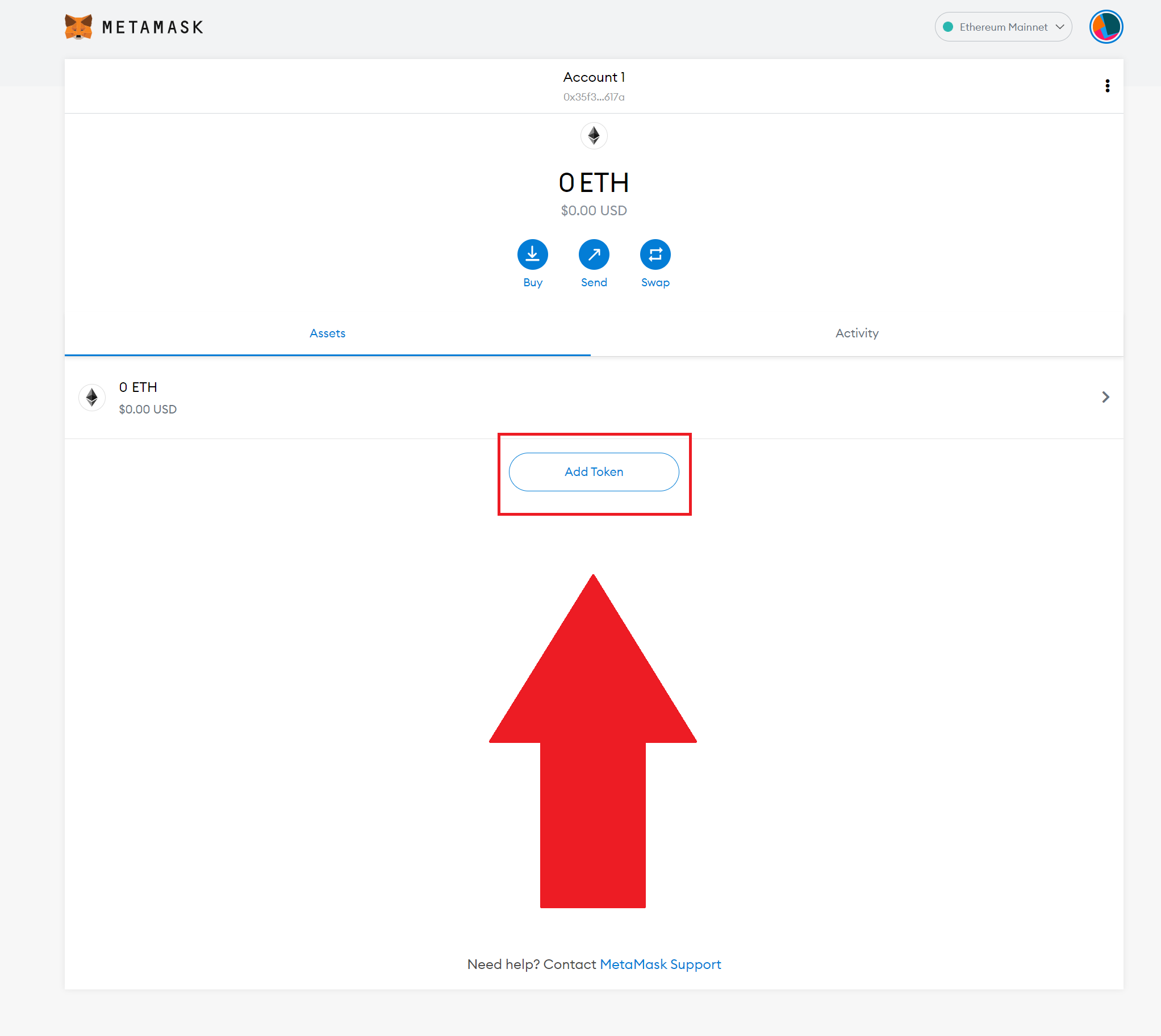 Add XFL to your MetaMask